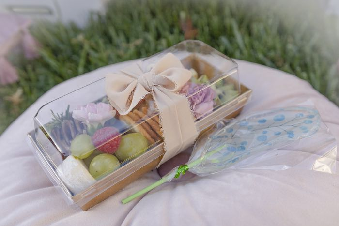 Mini Charcuterie Box from a Blooming Spring Garden Party on Kara's Party Ideas | KarasPartyIdeas.com (19)