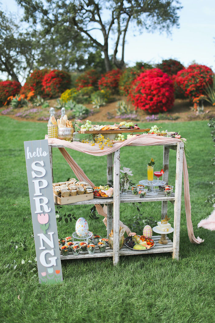 Boho Bunny Petting Zoo Party on Kara's Party Ideas | KarasPartyIdeas.com (46)