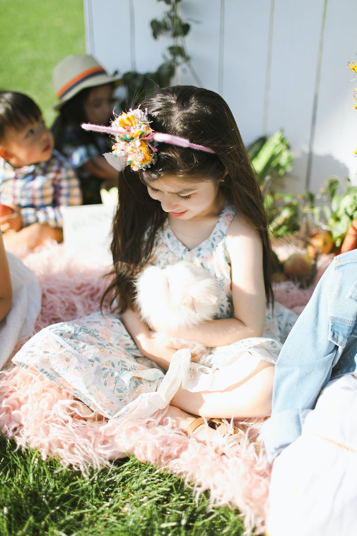 Boho Bunny Petting Zoo Party on Kara's Party Ideas | KarasPartyIdeas.com (17)