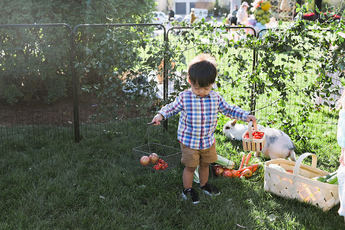 Boho Bunny Petting Zoo Party on Kara's Party Ideas | KarasPartyIdeas.com (10)