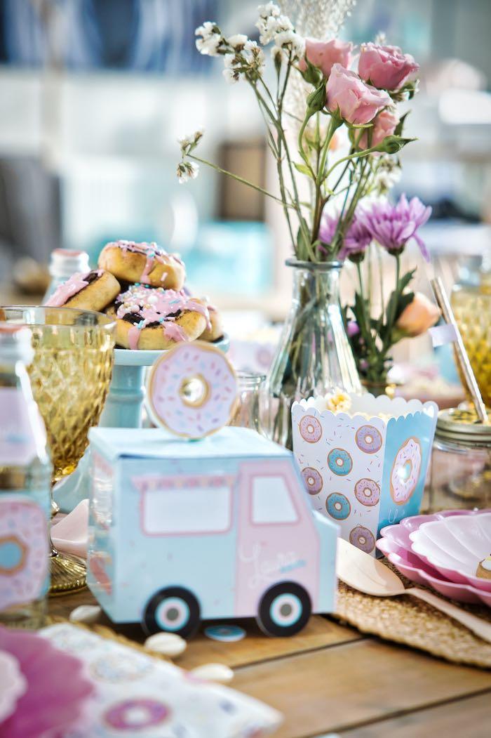 Boho Donut Birthday Party on Kara's Party Ideas | KarasPartyIdeas.com (7)