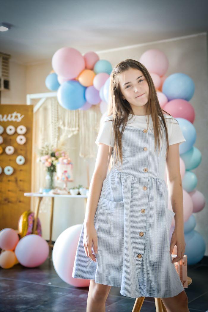 Boho Donut Birthday Party on Kara's Party Ideas | KarasPartyIdeas.com (5)