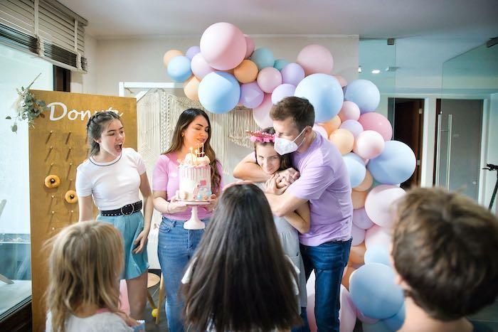 Boho Donut Birthday Party on Kara's Party Ideas | KarasPartyIdeas.com (4)