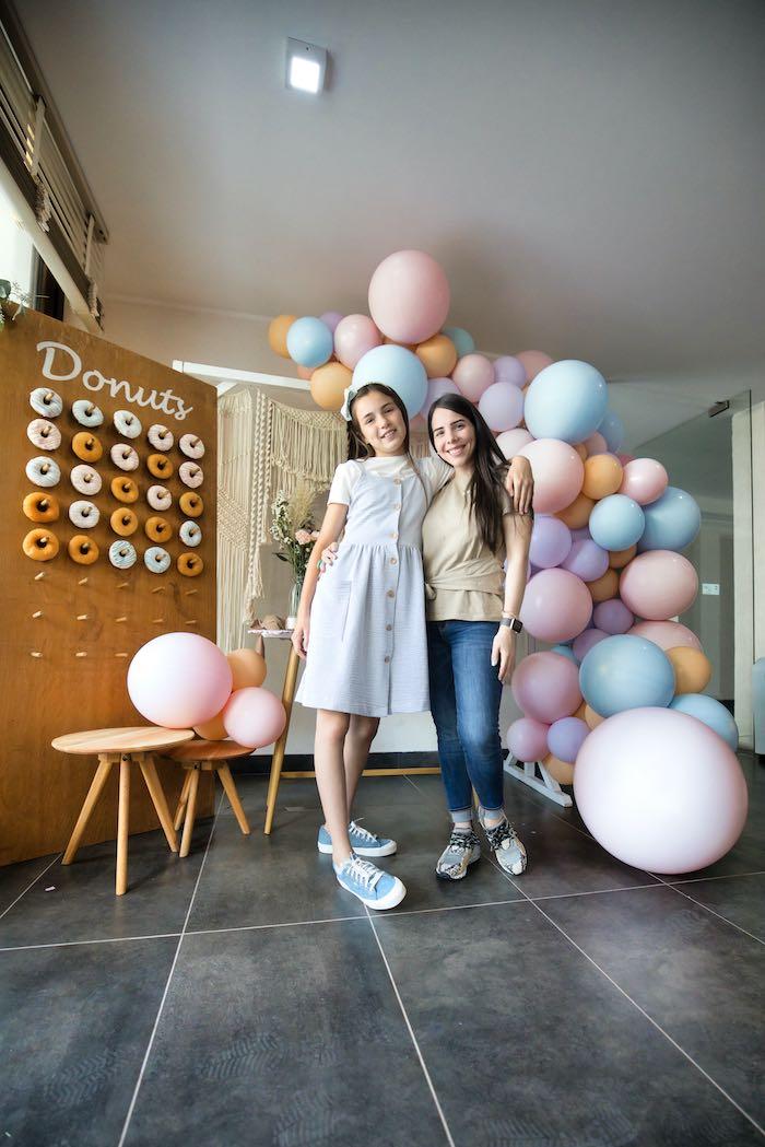 Boho Donut Birthday Party on Kara's Party Ideas | KarasPartyIdeas.com (20)