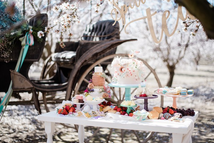 Grazing Dessert Table from a Bridgerton Inspired Easter Party on Kara's Party Ideas | KarasPartyIdeas.com (27)