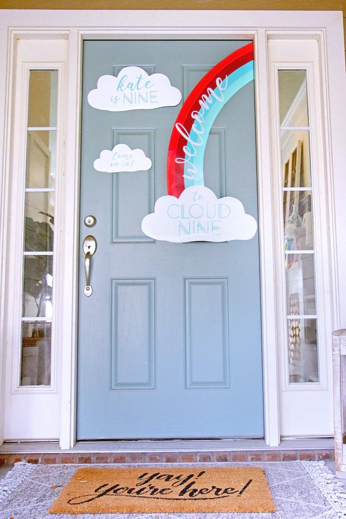 Cloud Nine Sleepover on Kara's Party Ideas | KarasPartyIdeas.com (27)