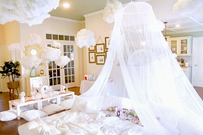Cloud Nine Sleepover on Kara's Party Ideas | KarasPartyIdeas.com (7)