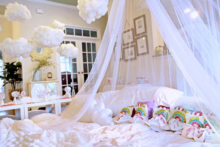 Cloud Nine Sleepover on Kara's Party Ideas | KarasPartyIdeas.com (6)