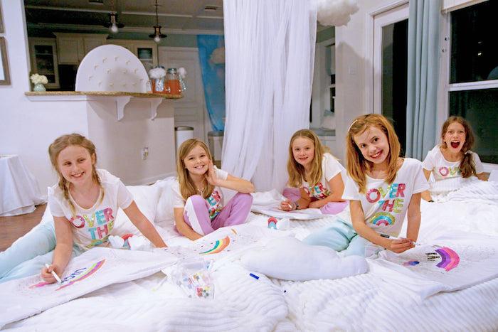 Cloud Nine Sleepover on Kara's Party Ideas | KarasPartyIdeas.com (5)