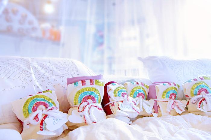 Favor Packs from a Cloud Nine Sleepover on Kara's Party Ideas | KarasPartyIdeas.com (33)