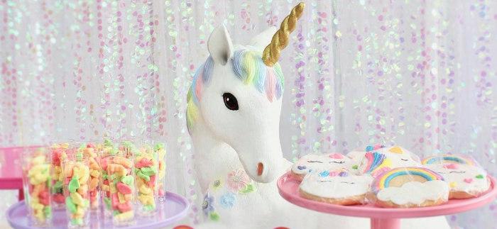 Glitter & Unicorns Birthday Party on Kara's Party Ideas | KarasPartyIdeas.com (1)