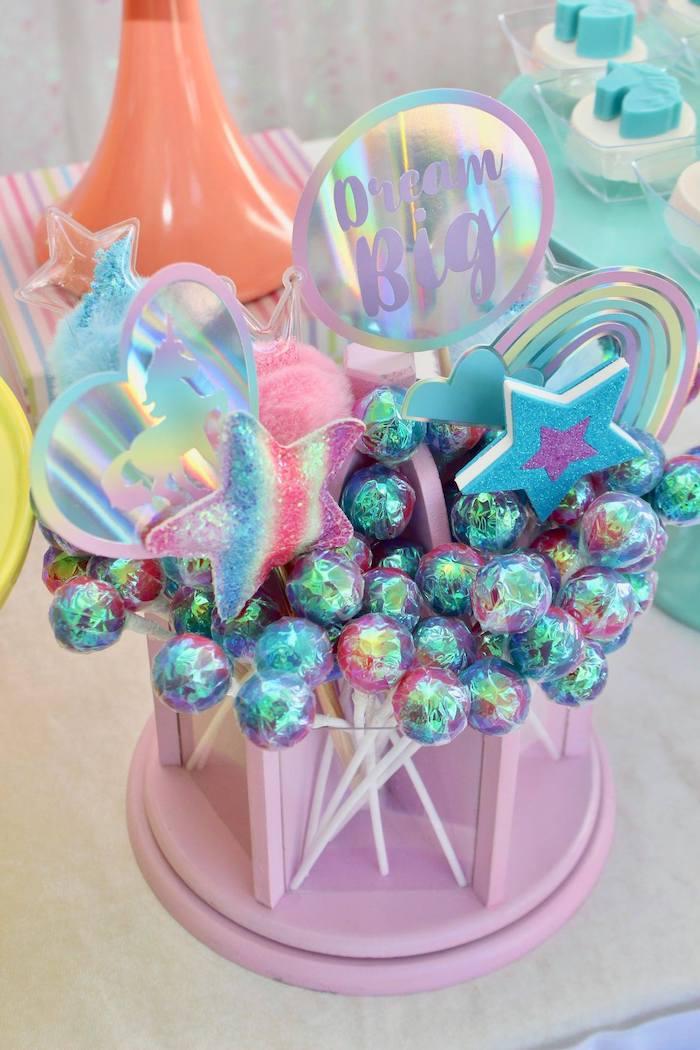 Dream Big Favors from a Glitter & Unicorns Birthday Party on Kara's Party Ideas | KarasPartyIdeas.com (17)