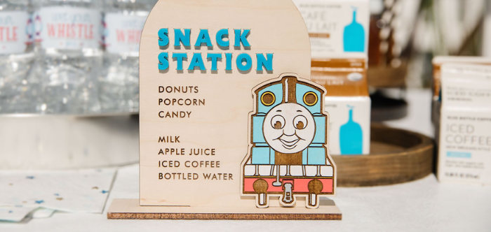 Modern Thomas the Train Birthday Party on Kara's Party Ideas | KarasPartyIdeas.com (4)
