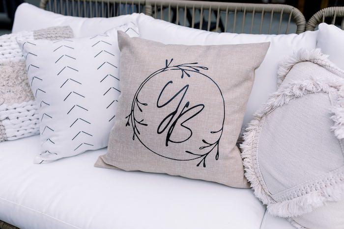 Custom Boho Pillows from a Rustic Boho Backyard Bat Mitzvah on Kara's Party Ideas | KarasPartyIdeas.com (42)