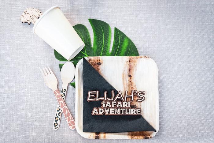 Safari Adventure Birthday Party on Kara's Party Ideas | KarasPartyIdeas.com (20)