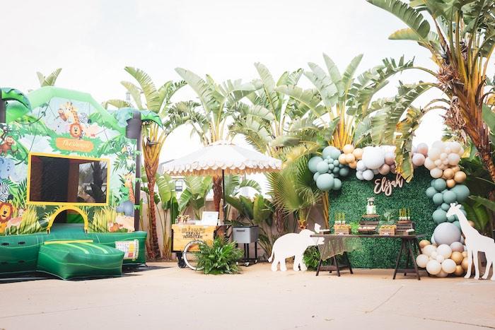 Safari Adventure Birthday Party on Kara's Party Ideas | KarasPartyIdeas.com (18)