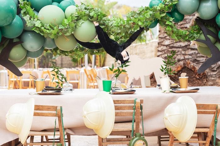 Safari Adventure Birthday Party on Kara's Party Ideas | KarasPartyIdeas.com (17)