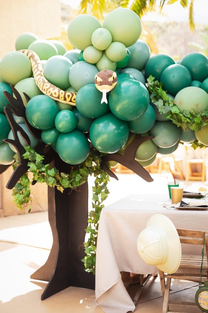 Safari Adventure Birthday Party on Kara's Party Ideas | KarasPartyIdeas.com (14)