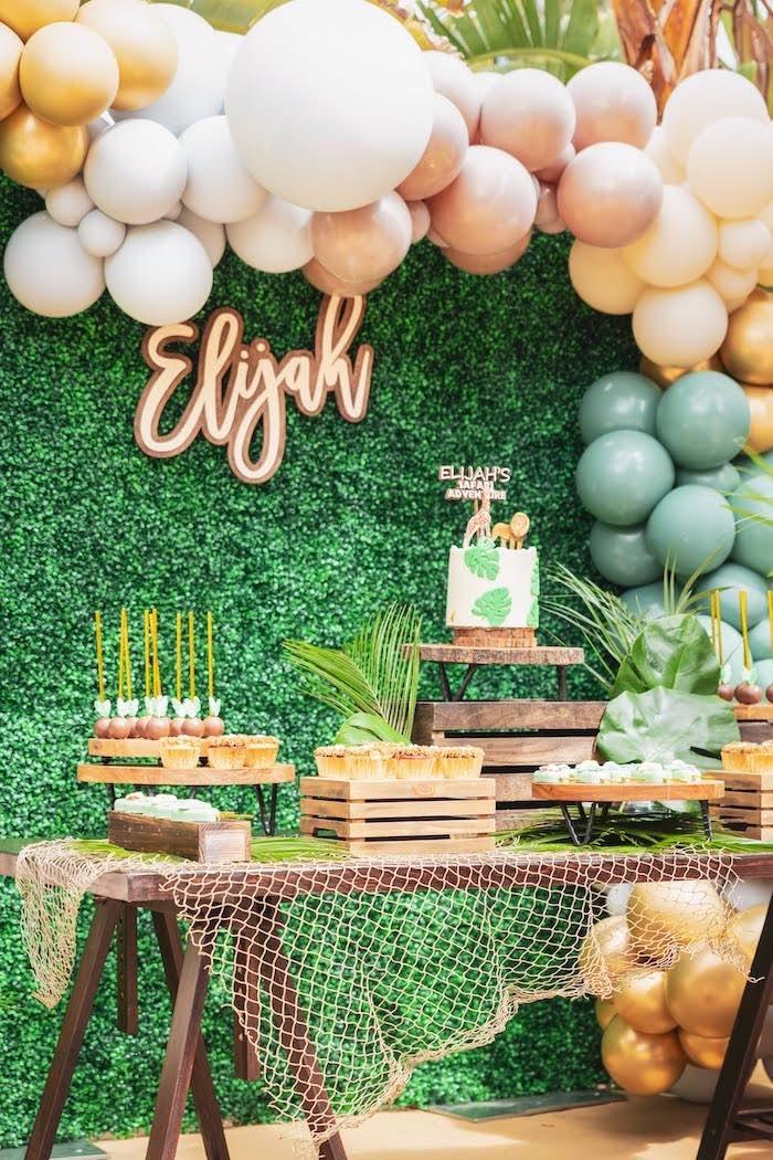 Safari Adventure Birthday Party on Kara's Party Ideas | KarasPartyIdeas.com (7)