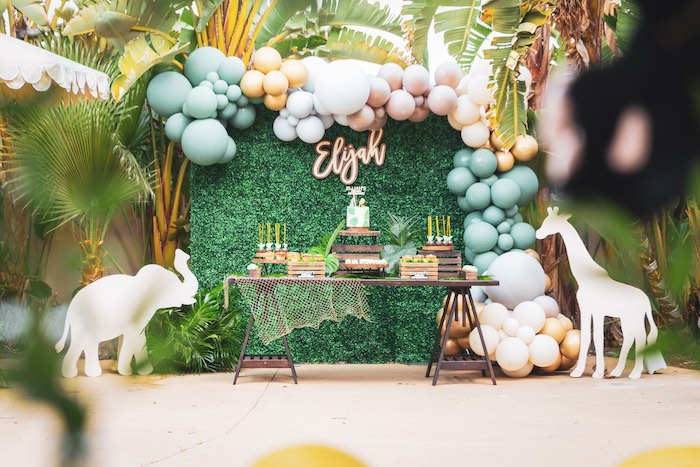 Safari Adventure Birthday Party on Kara's Party Ideas | KarasPartyIdeas.com (37)