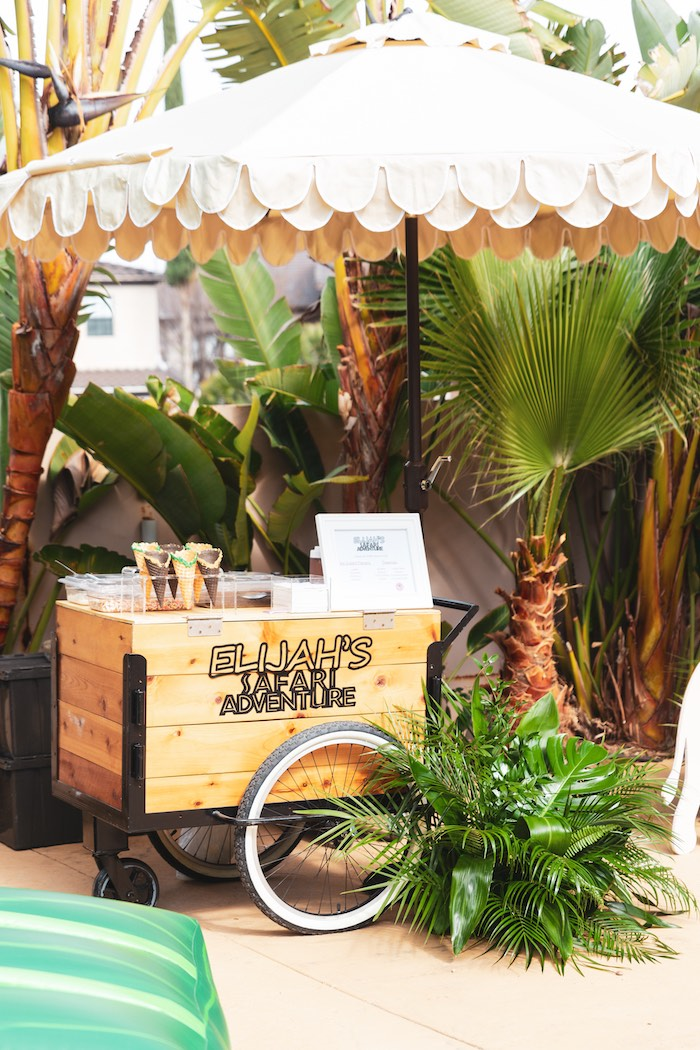 Safari Adventure Birthday Party on Kara's Party Ideas | KarasPartyIdeas.com (33)