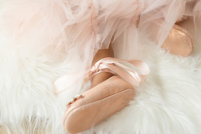 Ballet Feet from a Spring Enchanted Forest Party on Kara's Party Ideas | KarasPartyIdeas.com (16)