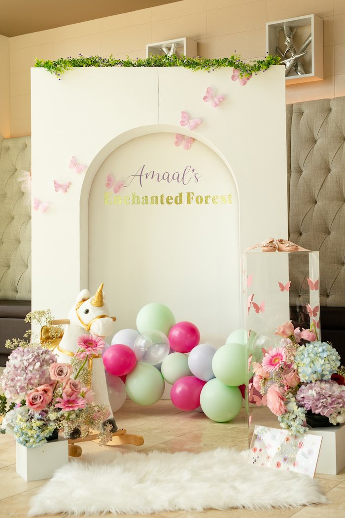 Spring Enchanted Forest Party on Kara's Party Ideas | KarasPartyIdeas.com (4)