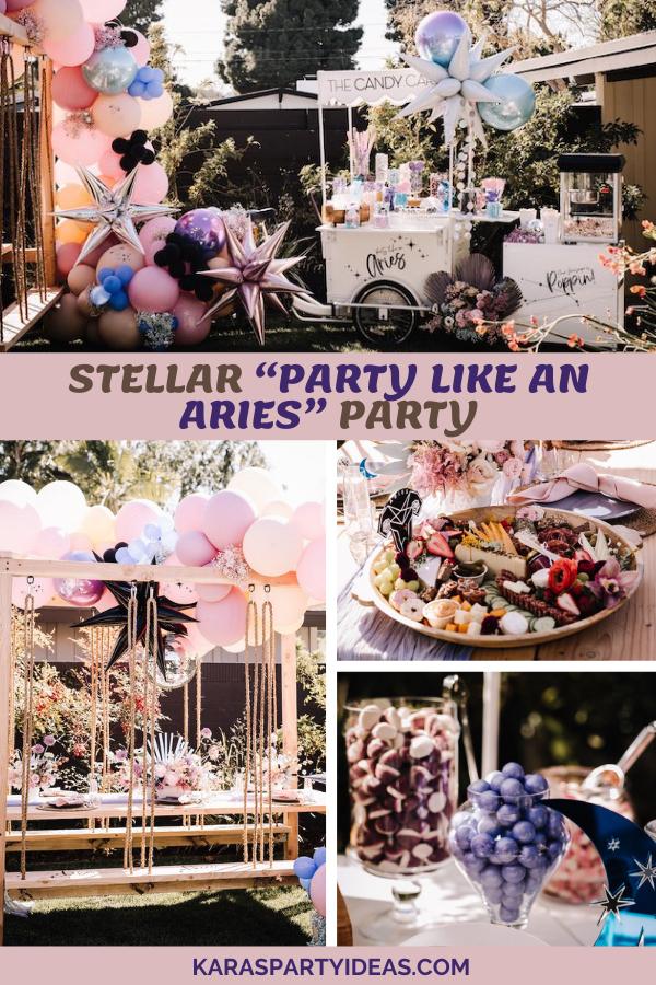 Stellar Party Like an Aries Party via Kara's Party Ideas - KarasPartyIdeas.com