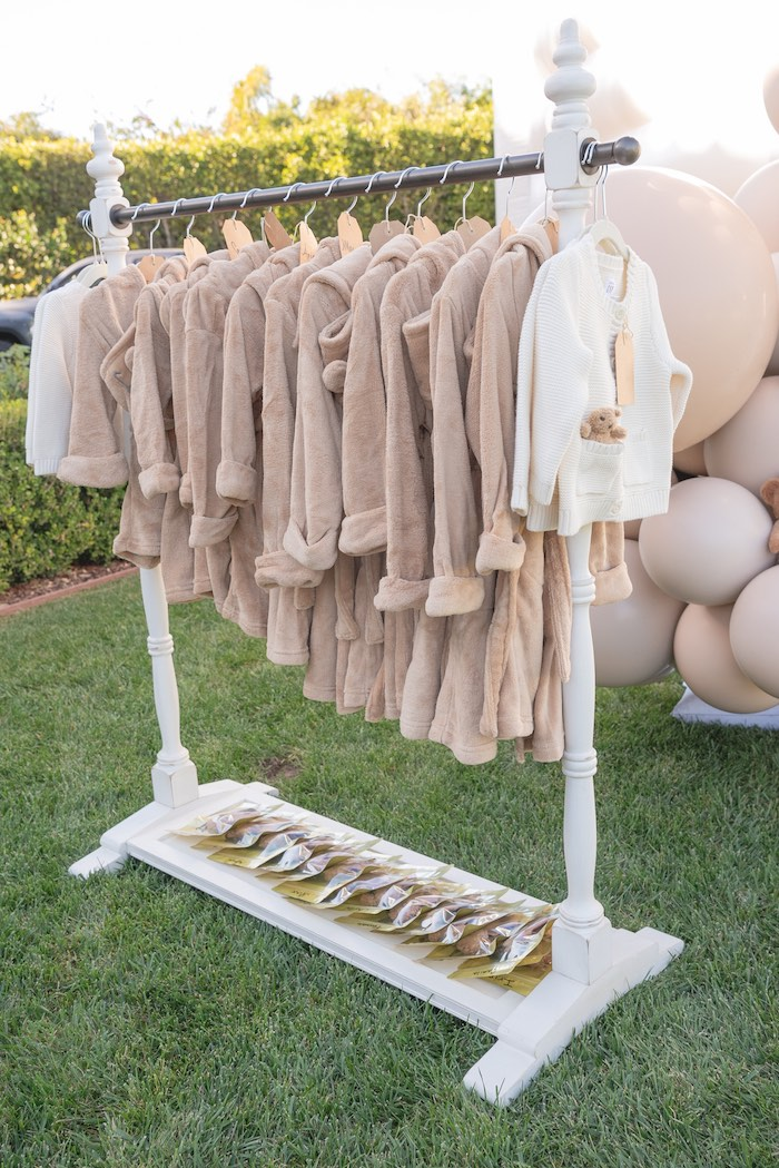 Teddy Bear Robes + Accessories from a Teddy Bear Birthday Party on Kara's Party Ideas | KarasPartyIdeas.com (26)