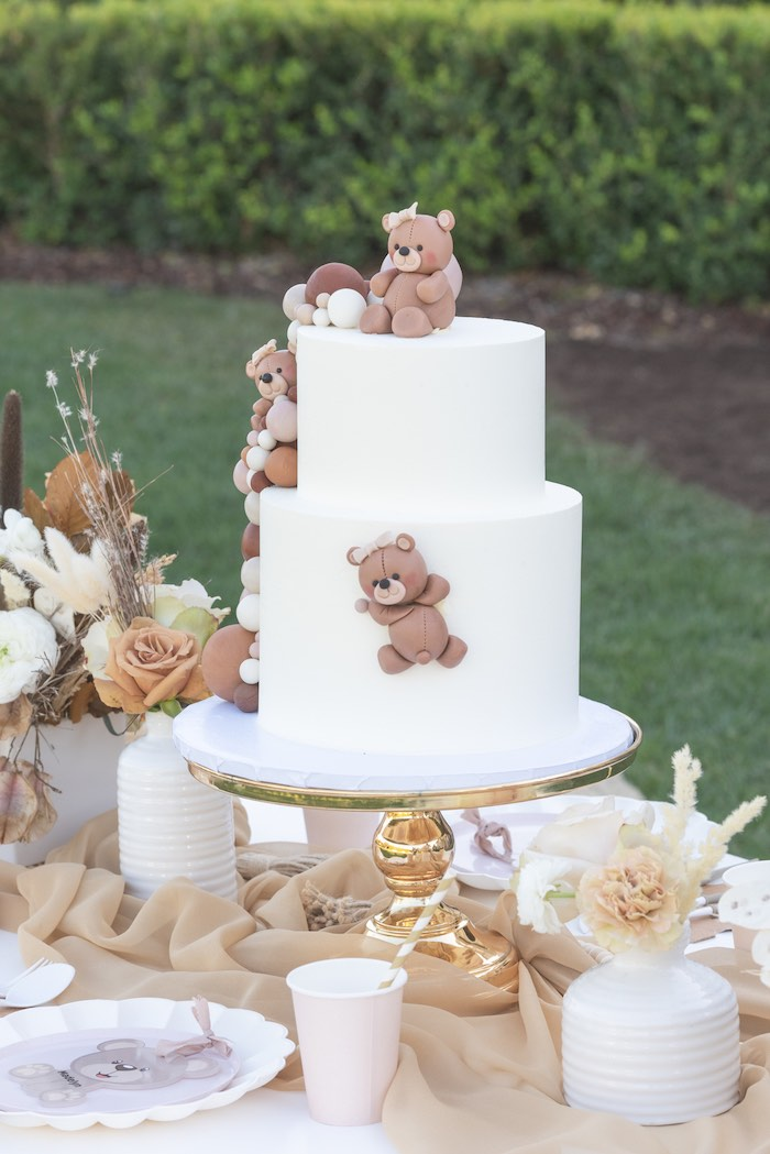 Teddy Bear Birthday Party on Kara's Party Ideas | KarasPartyIdeas.com (34)