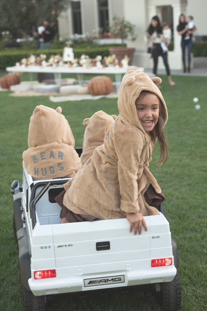 Teddy Bear Jackets from a Teddy Bear Birthday Party on Kara's Party Ideas | KarasPartyIdeas.com (5)