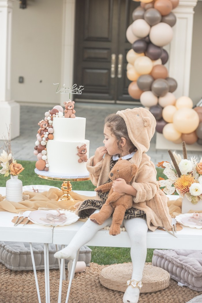 Teddy Bear Birthday Party on Kara's Party Ideas | KarasPartyIdeas.com (3)