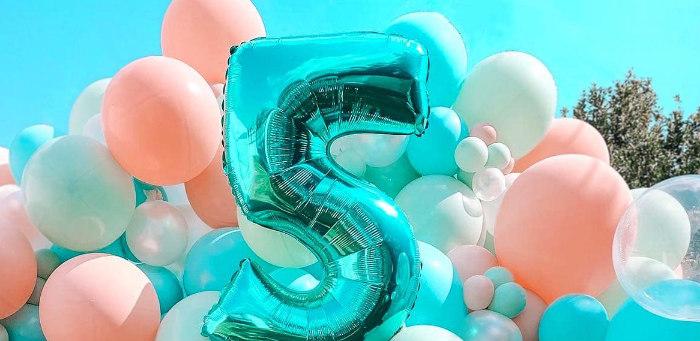 Turquoise and Pink Mermaid Birthday Party on Kara's Party Ideas | KarasPartyIdeas.com (3)