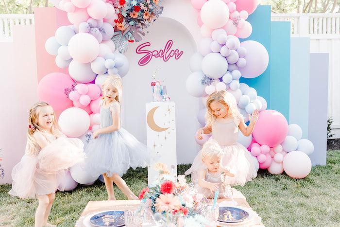 """Stay Wild, Moon Child"" Dreamy Birthday Party on Kara's Party Ideas | KarasPartyIdeas.com"