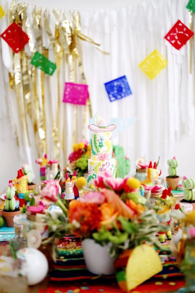 Colorful Cinco de Mayo Fiesta on Kara's Party Ideas   KarasPartyIdeas.com