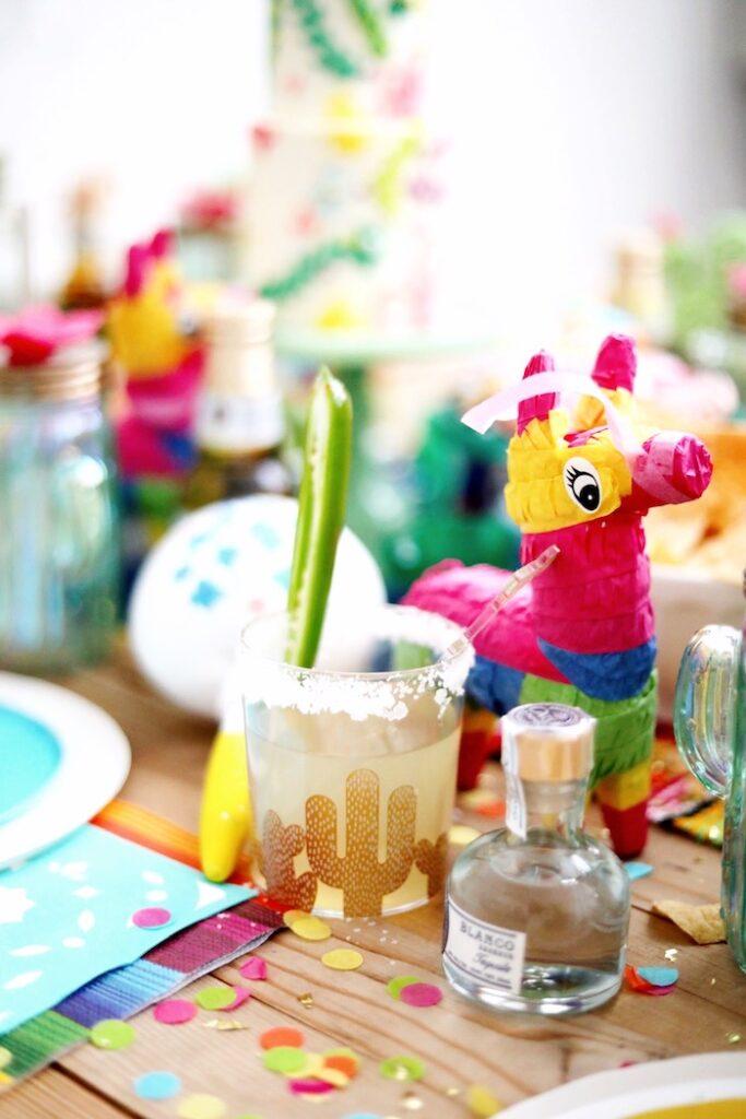 Personal Pinata from a Colorful Cinco de Mayo Fiesta on Kara's Party Ideas   KarasPartyIdeas.com