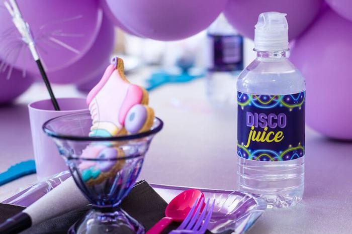Disco Juice from a Groovy Disco Birthday Party on Kara's Party Ideas | KarasPartyIdeas.com