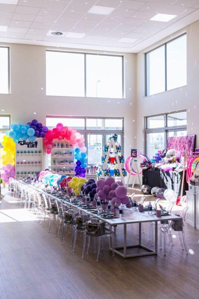 Groovy Disco Birthday Party on Kara's Party Ideas | KarasPartyIdeas.com