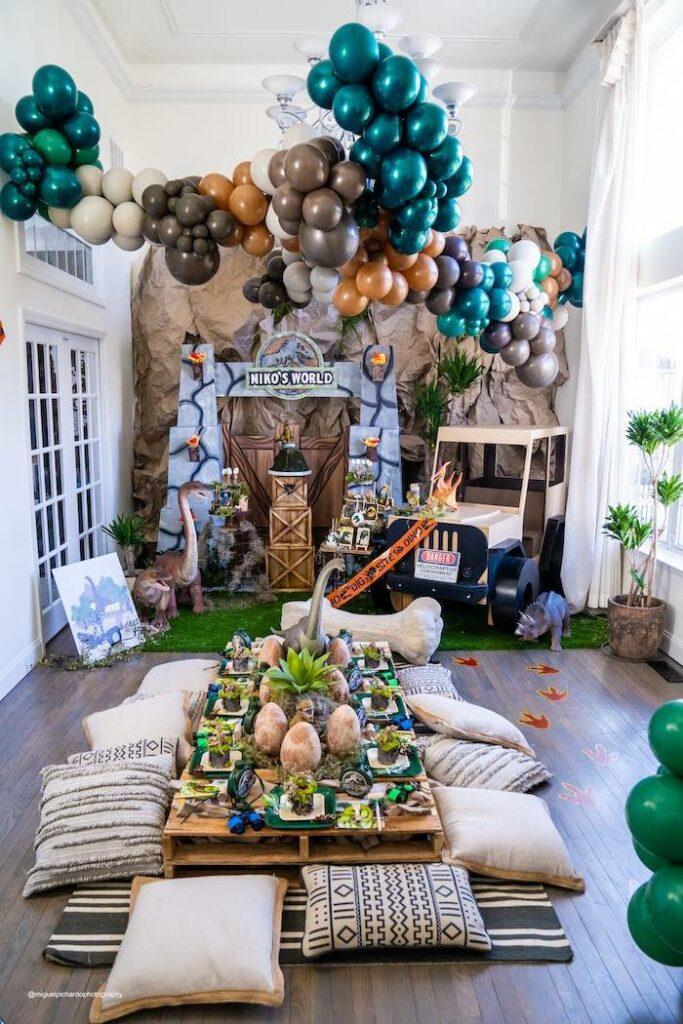 Jurassic World Dinosaur Birthday Party on Kara's Party Ideas | KarasPartyIdeas.com
