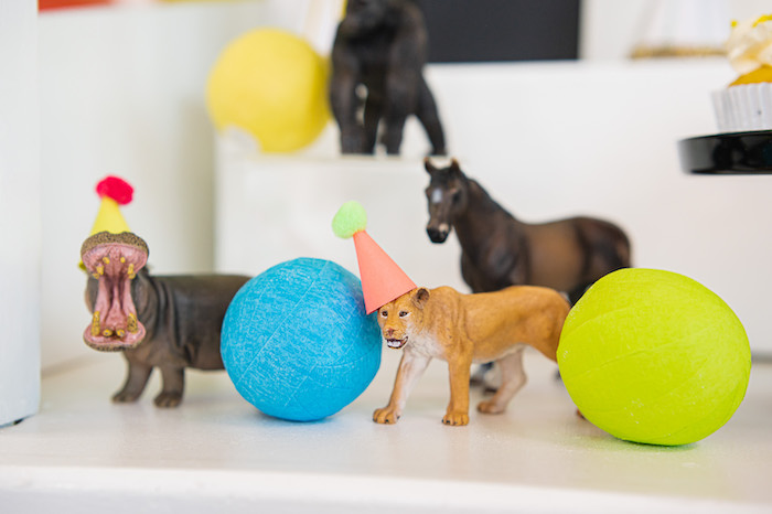 Party Animals from a Party Like an Animal Birthday Party on Kara's Party Ideas | KarasPartyIdeas.com