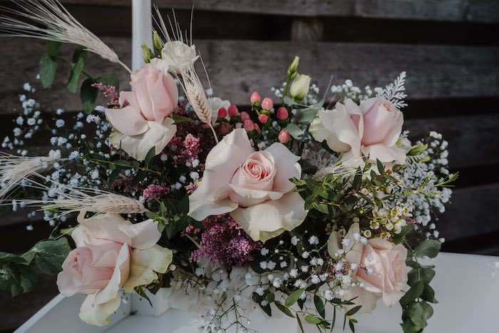 Spring Floral Arrangement from a Spring Fling Party on Kara's Party Ideas | KarasPartyIdeas.com (12)