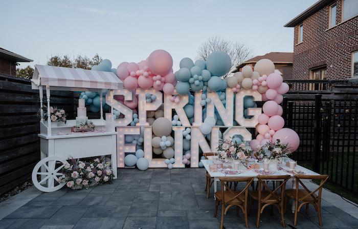 Spring Fling Party on Kara's Party Ideas | KarasPartyIdeas.com (9)