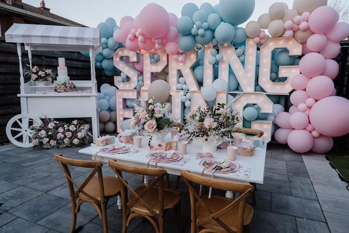 Spring Fling Party on Kara's Party Ideas | KarasPartyIdeas.com (7)