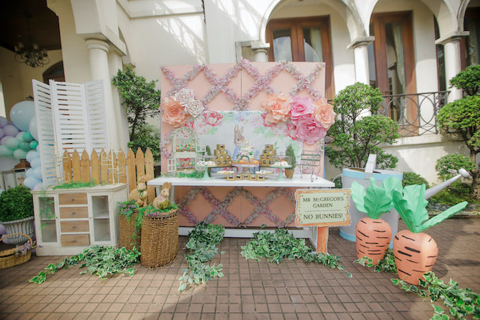 Beatrix Potter Farmers' Market Drive-by Party on Kara's Party Ideas | KarasPartyIdeas.com