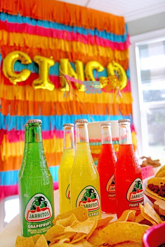 "Jarritos from a Cinco ""en"" Mayo 5th Birthday Fiesta on Kara's Party Ideas   KarasPartyIdeas.com"