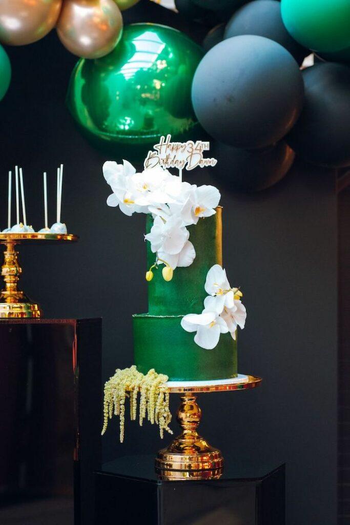 Tropical Cake from a Glam Tropical Birthday Party on Kara's Party Ideas | KarasPartyIdeas.com