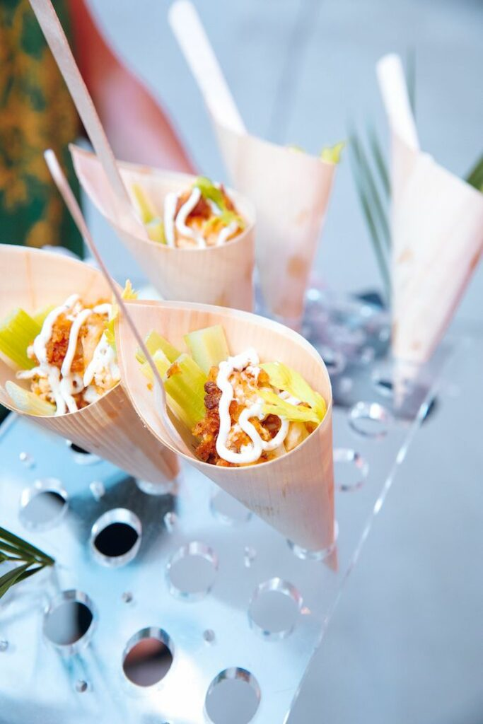 Food from a Glam Tropical Birthday Party on Kara's Party Ideas | KarasPartyIdeas.com