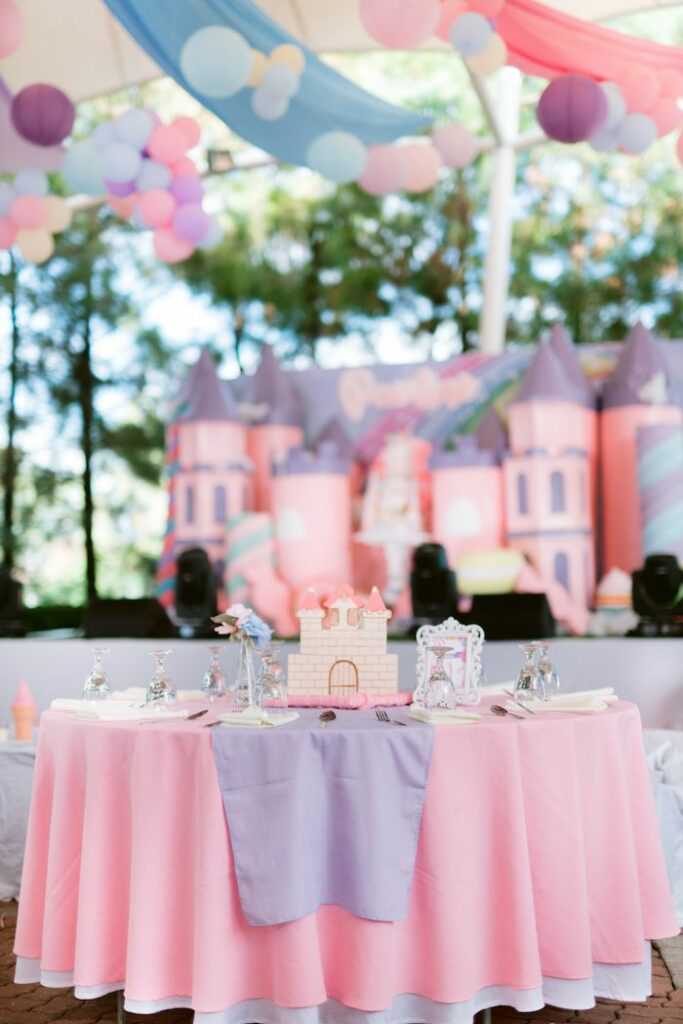 Candy Land Castle Birthday Party on Kara's Party Ideas   KarasPartyIdeas.com