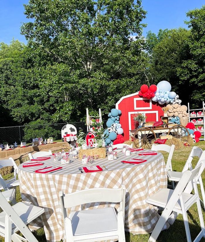 Farm 1st Birthday Party on Kara's Party Ideas | KarasPartyIdeas.com