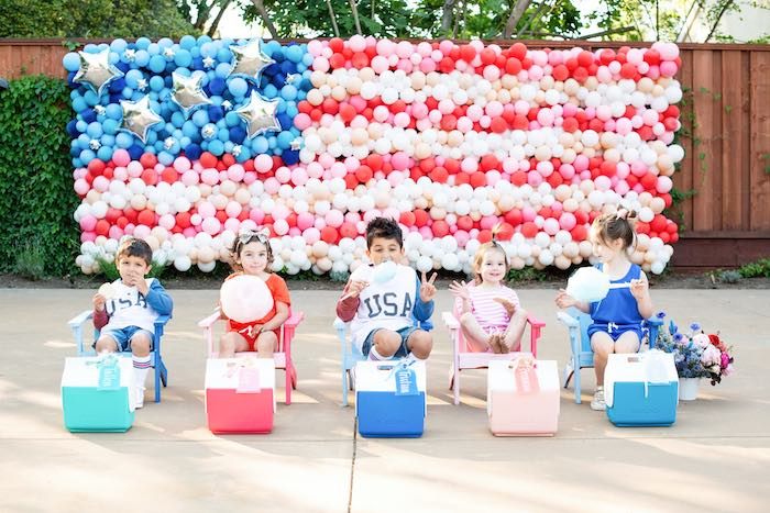 Modern Americana 4th of July Party on Kara's Party Ideas | KarasPartyIdeas.com